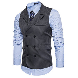 Business Double Breasted Waistcoat-US$22.83