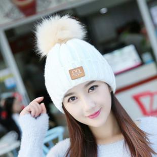 Women Warm Ear Knitted Beanies Hat -RM45.41