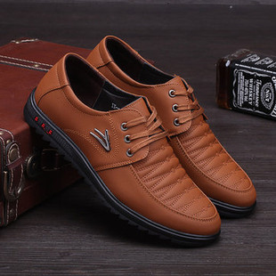 Men Microfiber Leather Casual Driving Shoes -US$26.90
