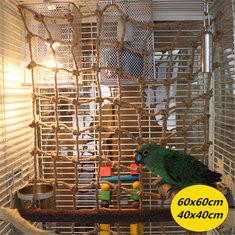 Parrot Bird Swing Thick Chew Rope Hammock-US$7.05
