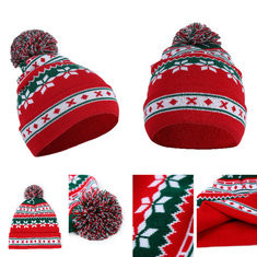 Christmas Knitted Santa Claus Hat-RM38.32