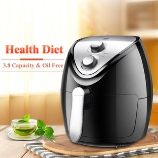 Intelligent 3.8L Automatic large capacity electric POTATO CHIPPER household air fryer multi-function Oven NO smoke Oil RM189.00