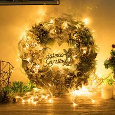 Christmas Artificial Wreath-US$20.50