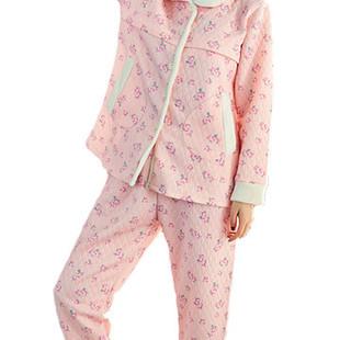 Pregnancy Floral Sleepwear Suit Sets -US$45.99