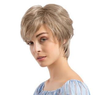 Human Hair Short Wigs -US$84.59