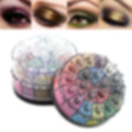 20 Color Smoky Eyeshadow Palette Glitter Shimmer Eyeshadow Long-Lasting Eye Makeup Set - RM63.74