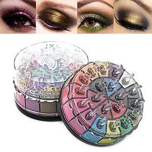 20 Color Smoky Eyeshadow Palette Glitter Shimmer Eyeshadow Long-Lasting Eye Makeup Set - RM63.74