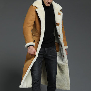 Men's Vintage Long Sheepskin F-US$5.69