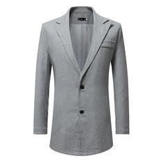 Casual Bussiness Slim Suit Coat-US$29.37
