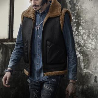 Men Thickening Fleece Liner Waistcoat-US$29.99