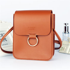 Women Faux Leather Mini Phone Bag-RM41.93