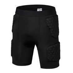 Honeycomb Anti-collision Sports Skinny Shorts