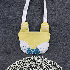 Lovely Yellow Kids Portable Shopping Bag Shoulder Bags Crossbody Bags-US$11.18