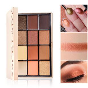 12 Colors Glitter Eyeshadow Pa-US$18.99