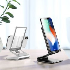 Glass Surface Metal Phone Holder-US$17.86