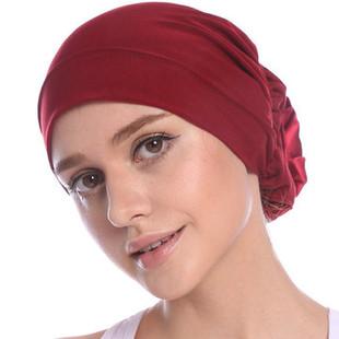 Best Elast Flower Beanie Hats -RM30.52
