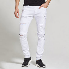 Casual Ripped Hip-Hop jeans-US$20.29