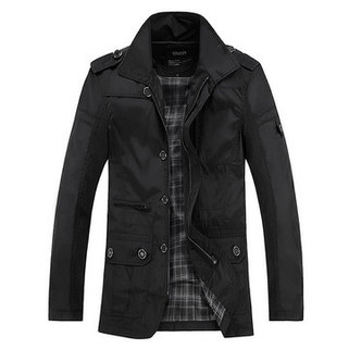 RM116.00-Mens Business Casual Thin Trench Coats