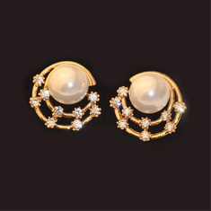 Sweet Ear Stud Earrings Starry =RM29.99