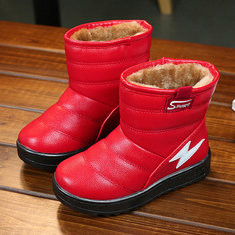 Unisex Kids Pure Warm Snow Boots