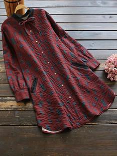 Geometric Print Bandage Dress -US$54.99