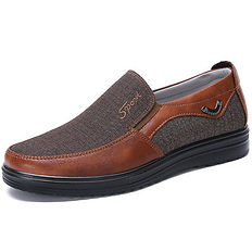 Men Shoes Large Size Old Beijing Style Casual Cloth Shoes - RM84.87