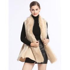 Elegant Fur Collar Cardigan-RM 181.66