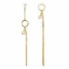 JASSY® 925 Silver Geometric Diamonds Earrings -US$25.73