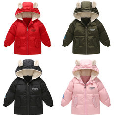 Cute Ears Girls Coat For 2Y-9Y-US$39.99