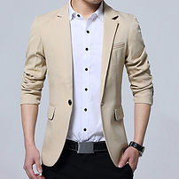 Casual Business Stylish Slim Fit Blazers for Mens Clothing - RM115.74