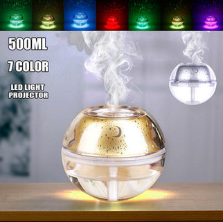 RM189.53 -USB Colorful Light Crystal Humidifier