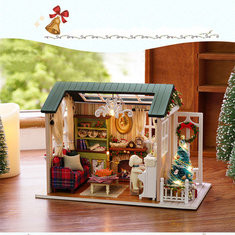 Christmas DIY Doll House-US$19.89