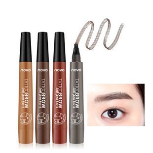 Four-bifurcated Eyebrow Pencil -US$8.59