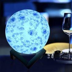 3D Printing Flower Moon Lamp-RM16.99 ~ 34.99