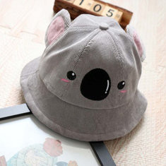Cute Koala Kids Bucket Hat For 1-4 Years-US$12.00