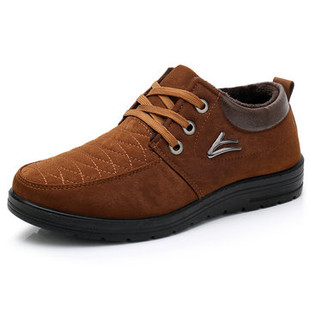 Men Fabric Warm Casual Shoes -US$24.54