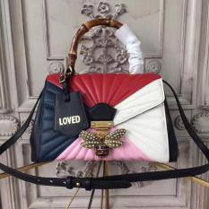 Gucci Queen Margaret Quilted Leather Top Handle Bag Multicolor RM1,460.00