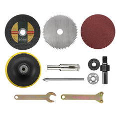 11Pcs Multi Saw Blade Disc Sanding Pad For Electric Drill -US$9.75