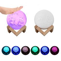15cm 3D Printing Crack Moon Lamp-RM16.99 ~ 31.
