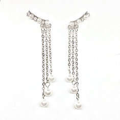 Fashion Ear Drop Earrings Long Chain-RM29.99