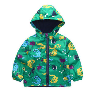 Thicken Waterproof Trench Coat For 2-9Y -US$27.99