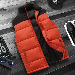 Men Windproof Waistcoat Down Vest-US$29.99