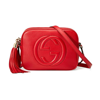 Gucci 308364 A7M0G 6523 Soho Small Leather Disco Bag, Red RM4,112.00