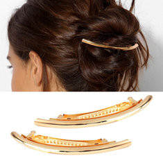 Trendy Mental Hair Clip -US$7.51