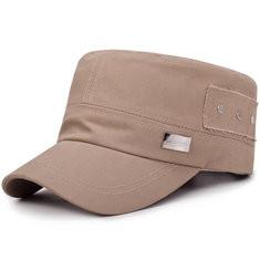 Men Flat Cap Military Hat--RM36.60