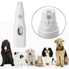 Portable Electric Pet Dog Cat Nail Clipper Trimmer -US$8.35