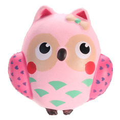 Pink Owl Squishy -US$5.82