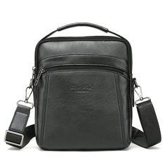 Men Genuine Leather Business Crossbody Bag -RM298.43