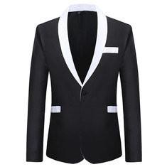 Formal Fashion Long Sleeve Thin Blazer Suit-US$42.38