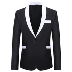Formal Fashion Long Sleeve Thin Blazer Suit-US$42.38